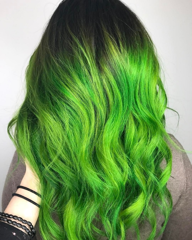 Green Hair Dye Can It Hurt Me