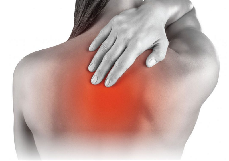 Overcoming shoulder blade pain