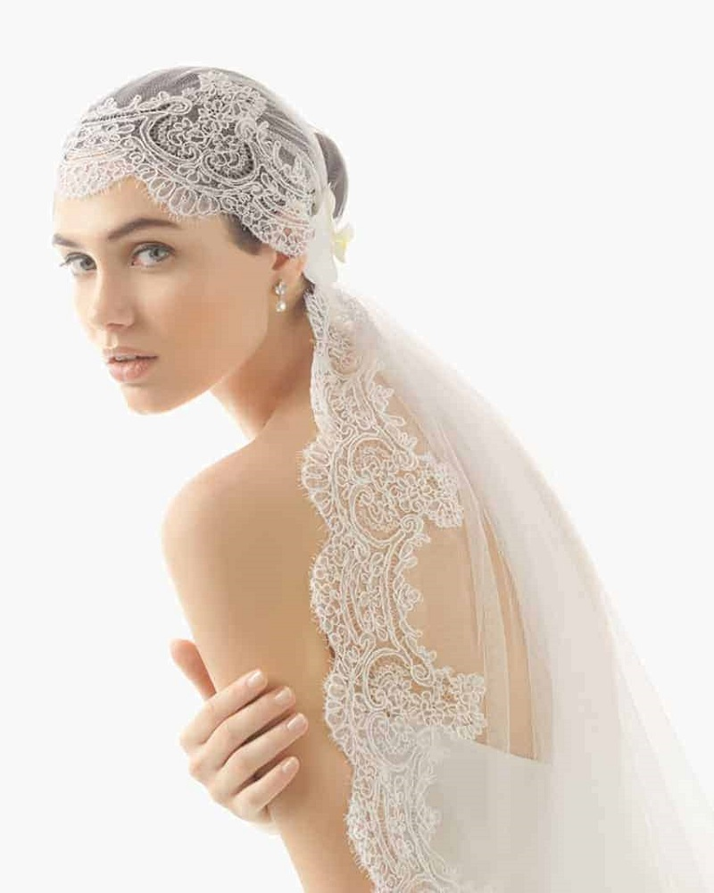 trendy ideas for the wedding veil