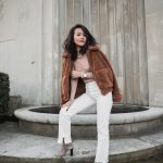 How to combine with white jeans