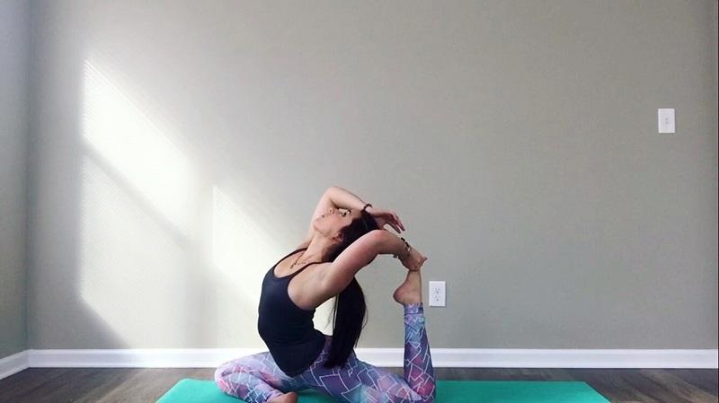 practice yoga alone?