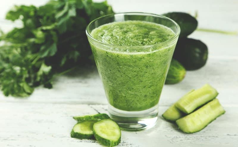 Fruit slimming juices