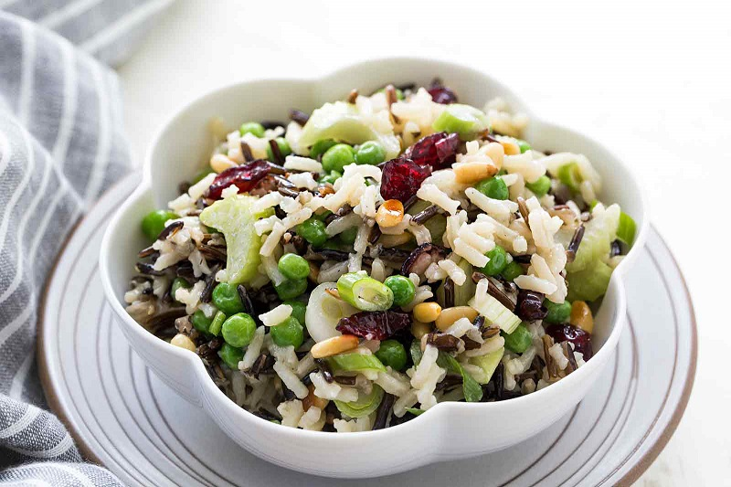 Rice salad, tricks, tips and ideas