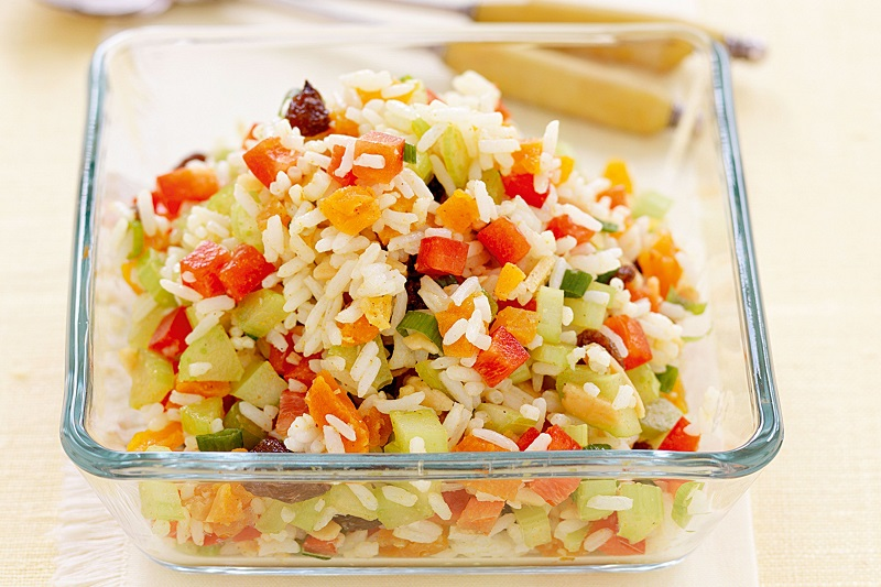 Rice salad, tricks, tips and ideas