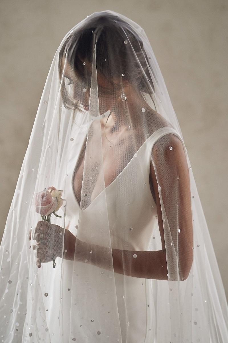 trendy ideas for the wedding veil