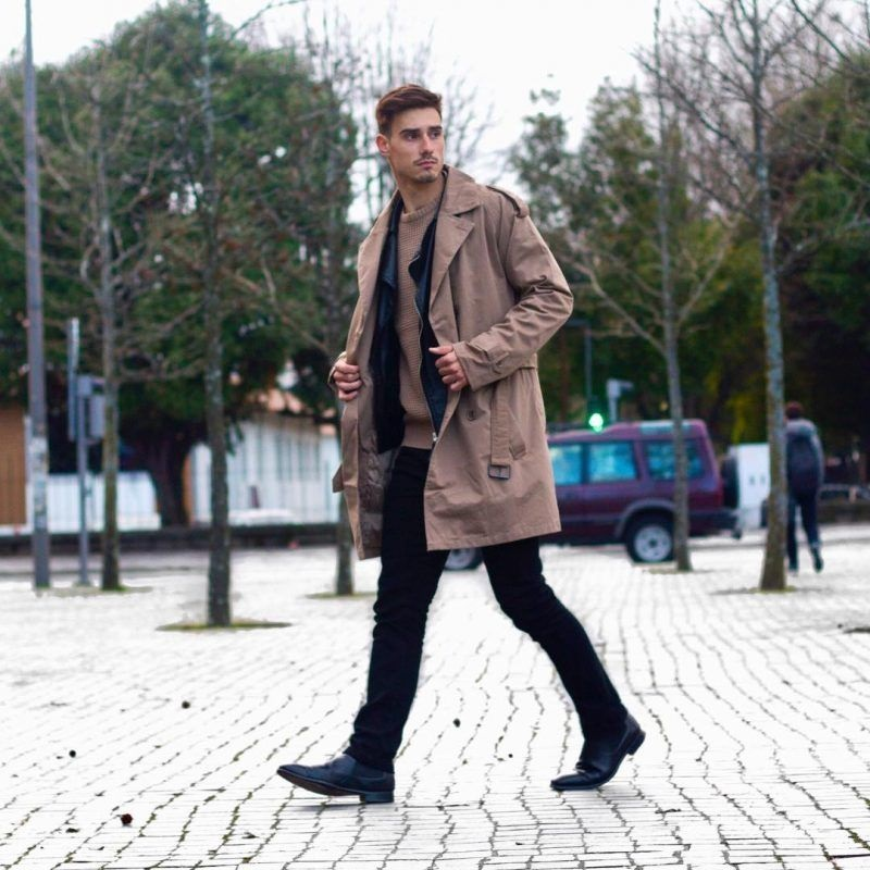 Men trench coats